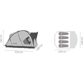 SALEWA Alpine Hut IV Tiendas de campaña, cactus/grey